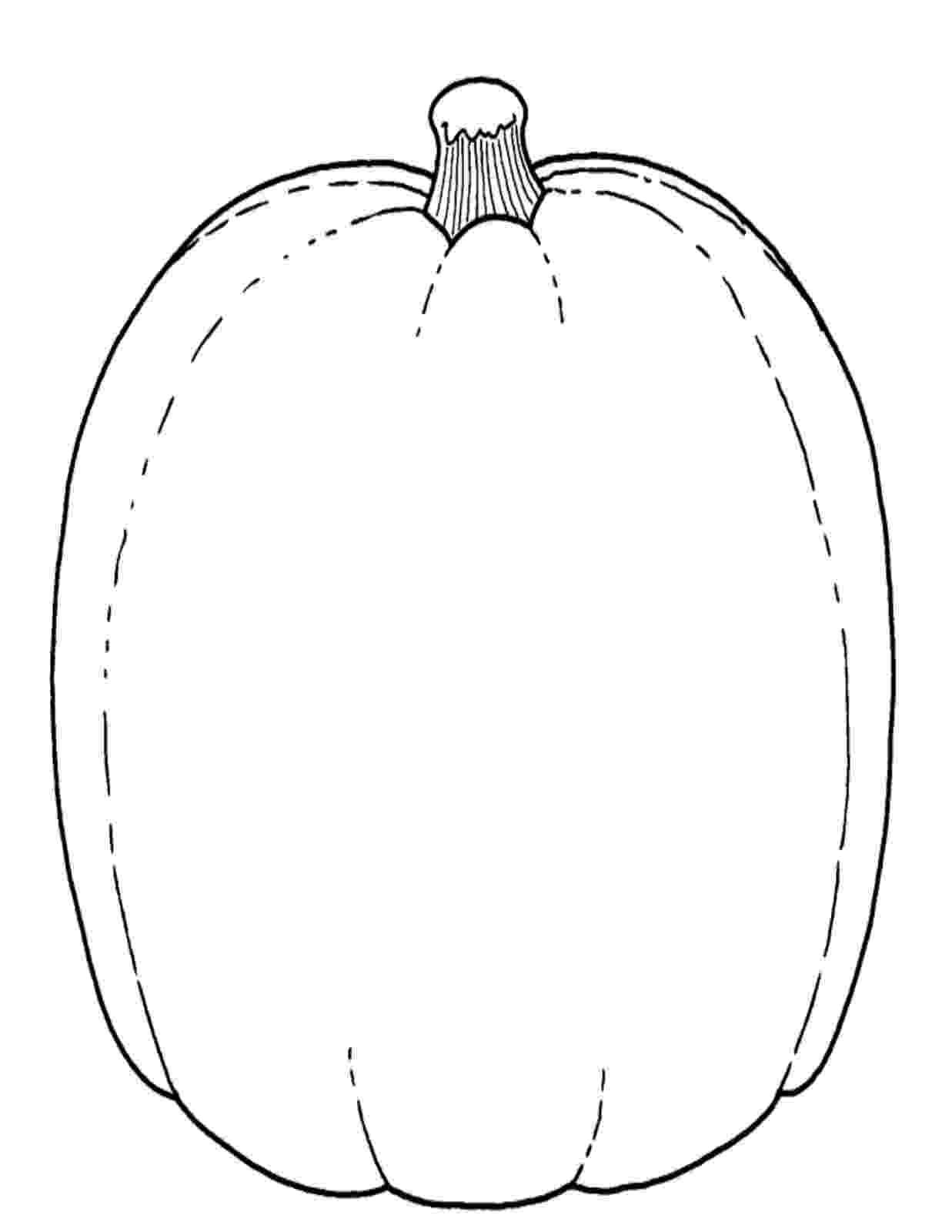 blank pumpkin template blank pumpkin coloring page supercoloringcom template blank pumpkin