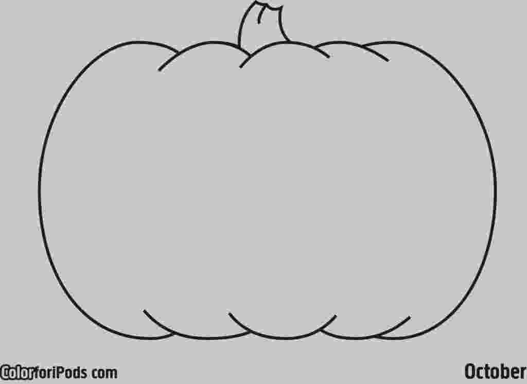 blank pumpkin template blank pumpkin with leaves coloring page free printable pumpkin template blank