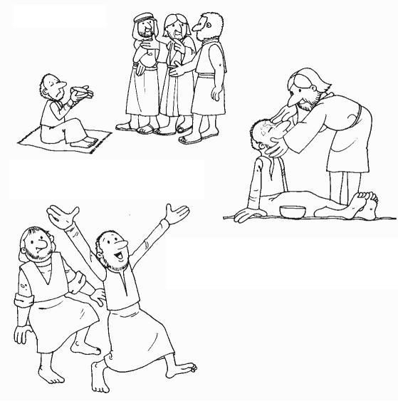 blind bartimaeus coloring page jesus heals blind bartimaeus coloring page coloring pages coloring blind bartimaeus page