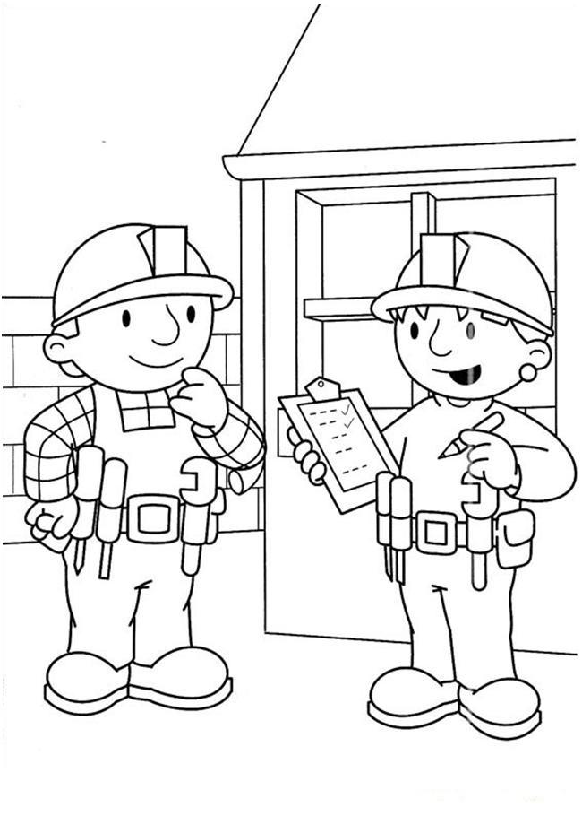 bob the builder coloring page bob the builder coloring pages lets coloring builder coloring page the bob