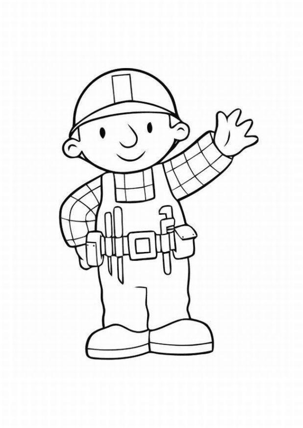 bob the builder coloring page bob the builder coloring pages team colors page coloring builder the bob