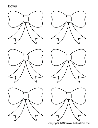 bow coloring page bows free printable templates coloring pages coloring page bow