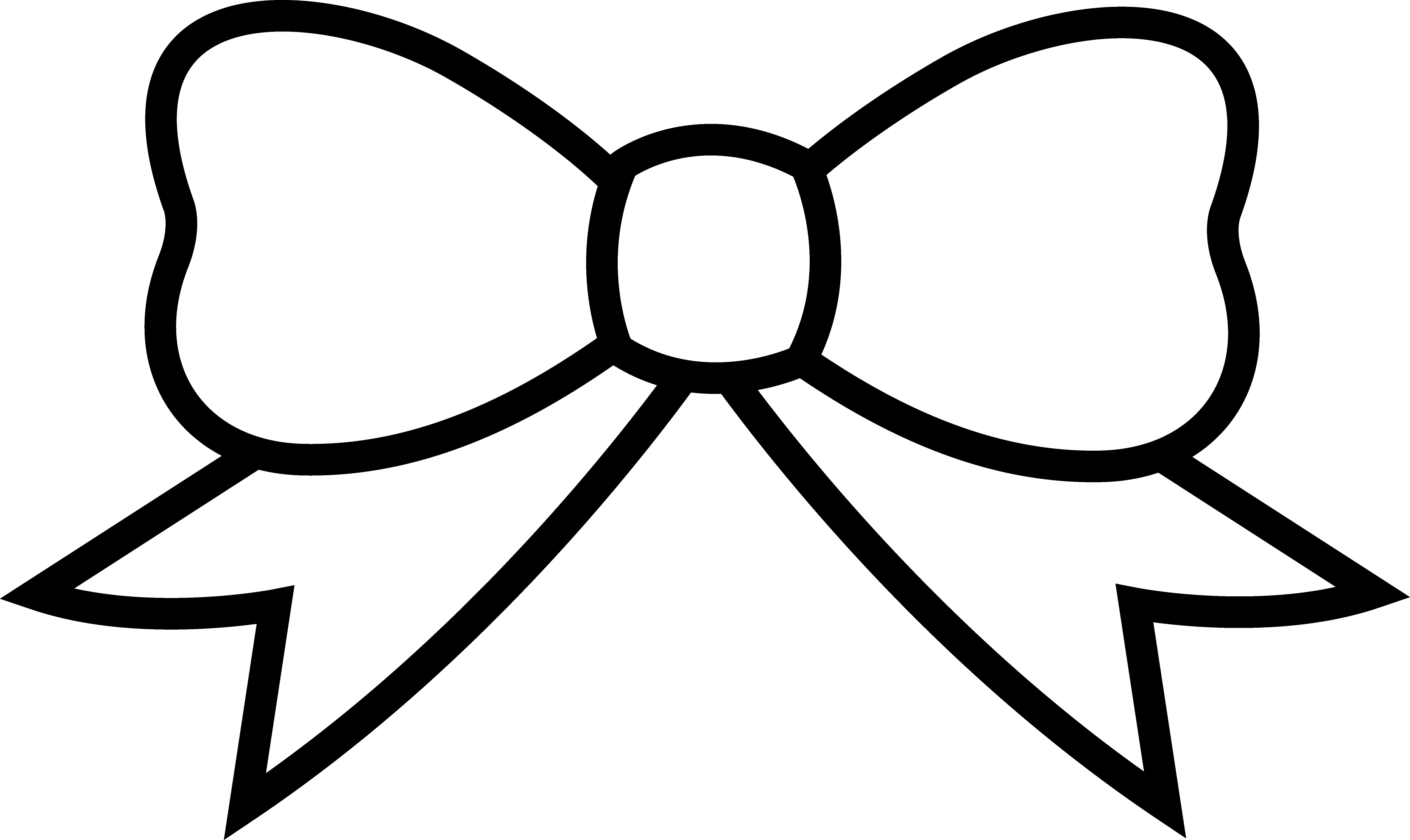 bow coloring page hair bows page coloring bow