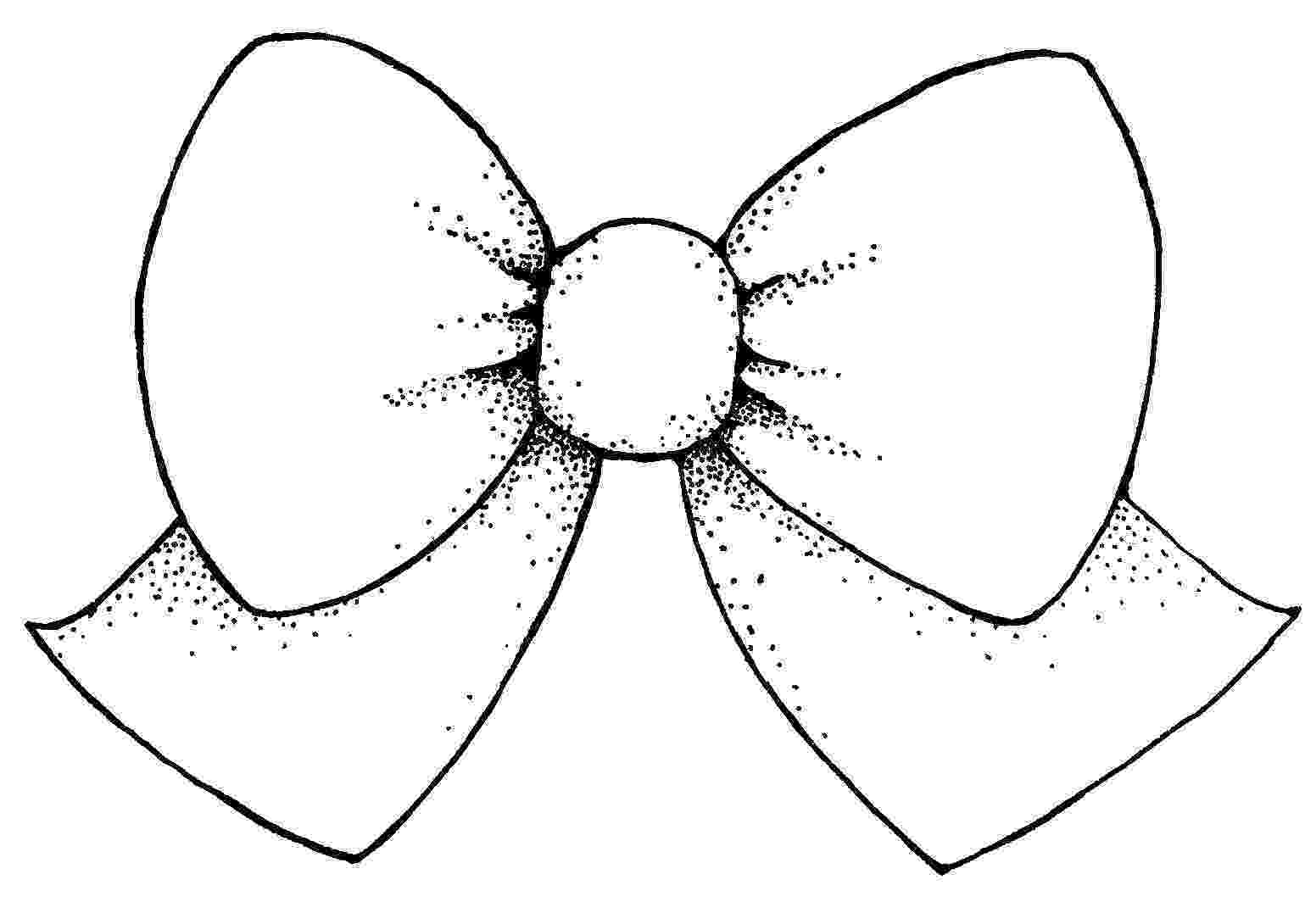 bow coloring page vector bow clipart best bow page coloring