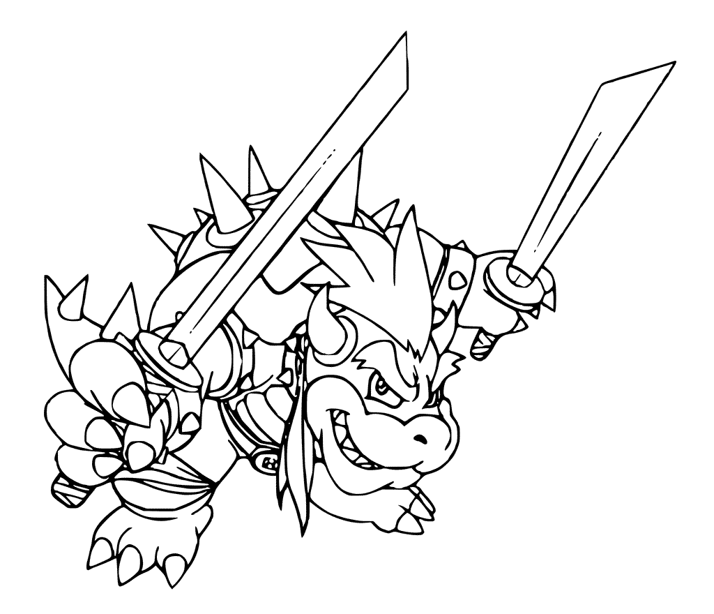 bowser coloring page bowser coloring pages best coloring pages for kids bowser coloring page 1 1