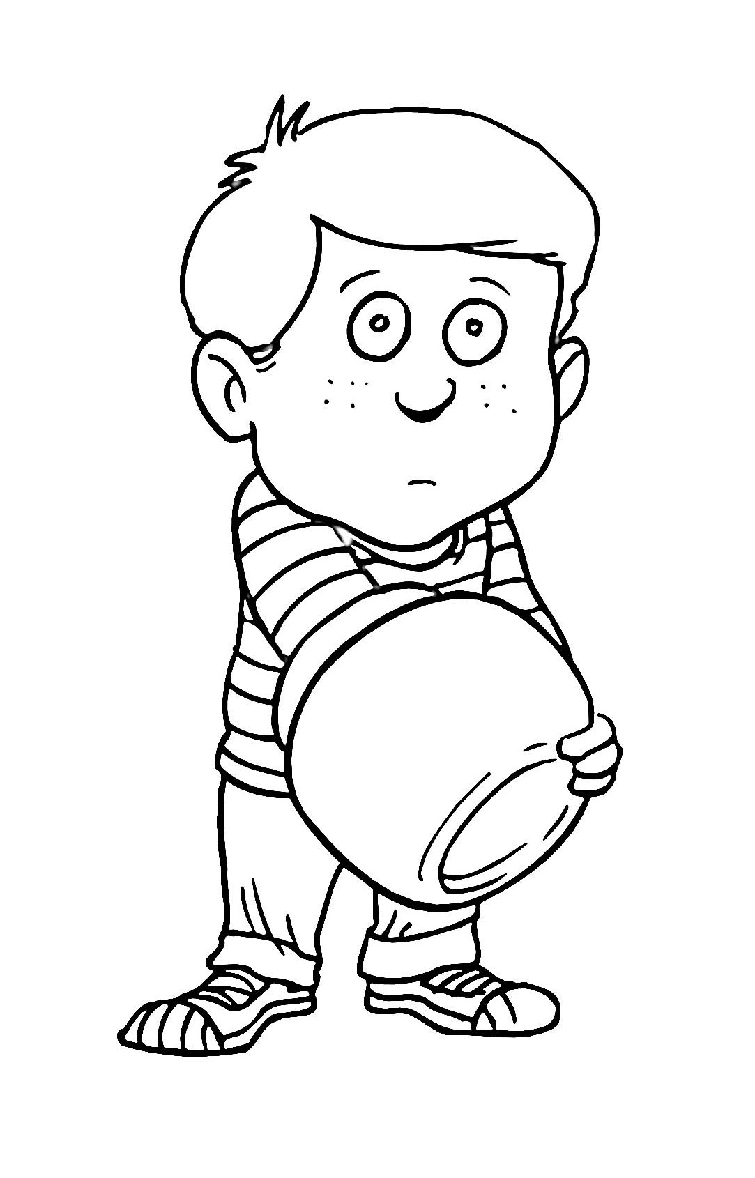 boy coloring page cartoon boy coloring page wecoloringpagecom page boy coloring