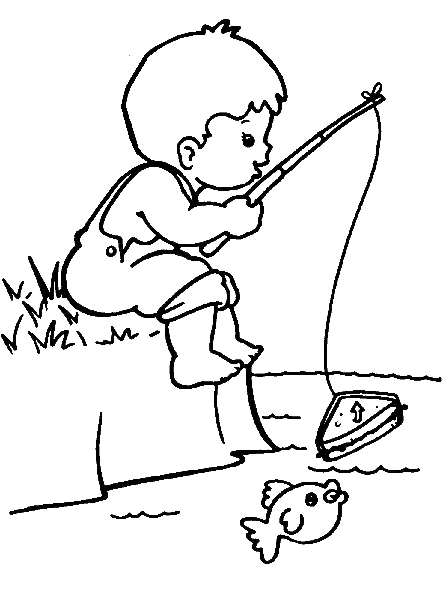 boy coloring page free printable boy coloring pages for kids page boy coloring 1 1