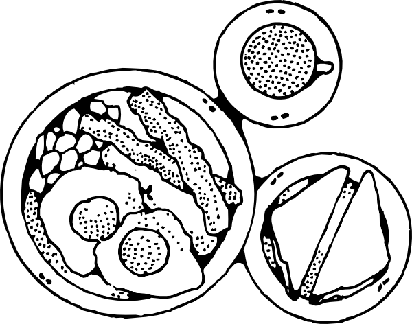 breakfast coloring page breakfast coloring pages download and print for free breakfast coloring page
