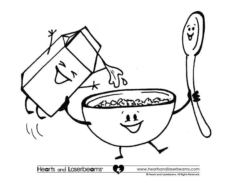 breakfast coloring page breakfast coloring pages download and print for free coloring breakfast page