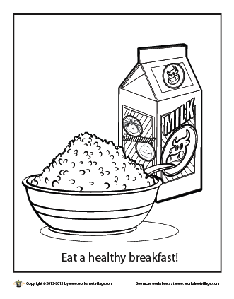 breakfast coloring page online free coloring pages for kids coloring sun part 6 page coloring breakfast