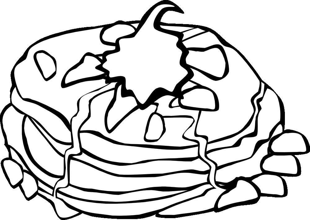 breakfast coloring page onlinelabels clip art fast food breakfast pancakes breakfast coloring page