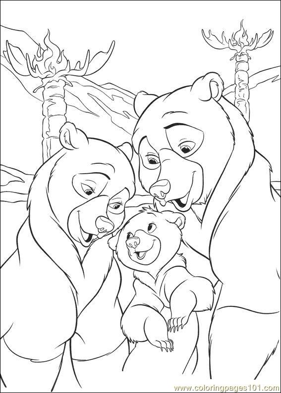 brother bear 2 coloring pages brother bear 2 coloring pages coloringpagesabccom coloring pages bear 2 brother