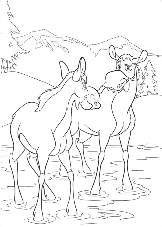 brother bear 2 coloring pages coloring page brother bear passing a wood bridge bear 2 coloring pages brother