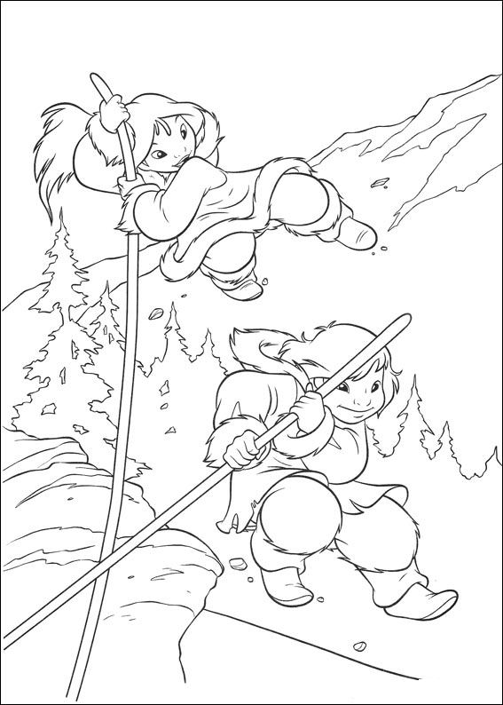 brother bear 2 coloring pages june 2011 team colors pages brother 2 coloring bear