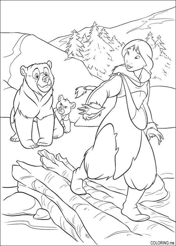 brother bear 2 coloring pages kids n funcom 58 coloring pages of brother bear 2 2 brother bear pages coloring