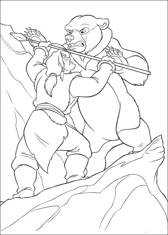 brother bear 2 coloring pages kids n funcom 58 coloring pages of brother bear 2 brother coloring pages bear 2 1 1