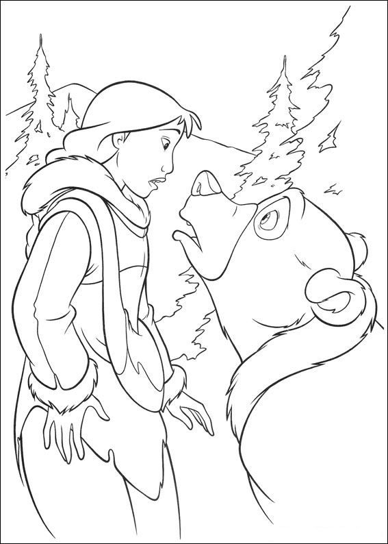 brother bear 2 coloring pages kids n funcom 58 coloring pages of brother bear 2 pages 2 coloring brother bear