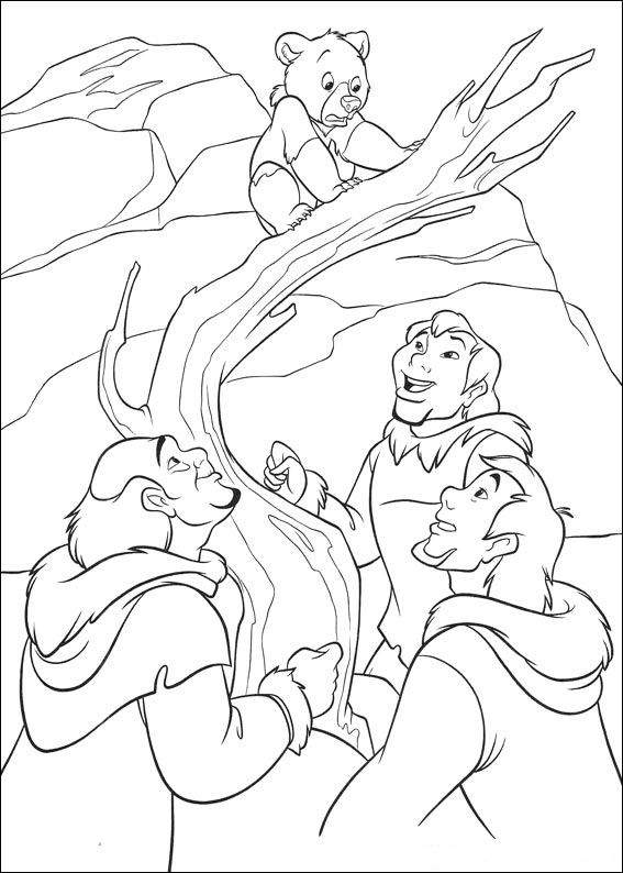 brother bear 2 coloring pages kleurplaat brother bear 2 brother bear 2 disney 2 brother bear coloring pages