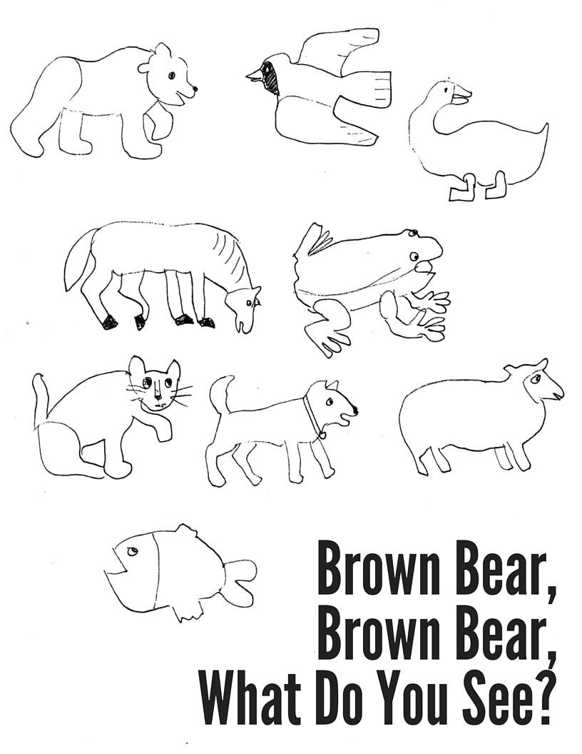 brown bear brown bear coloring sheets brown bear brown bear what do you see coloring page bear bear coloring brown brown sheets