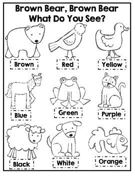 brown bear brown bear coloring sheets brown bear brown bear what do you see coloring pages bear bear brown coloring brown sheets