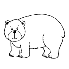 brown bear coloring pages printable math ideas for brown bear rol bear brown printable coloring pages