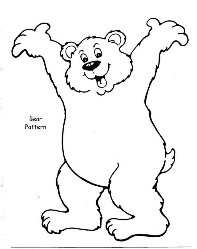 brown bear coloring pages printable search kindergarten smorgasboard bear coloring pages brown pages bear coloring printable
