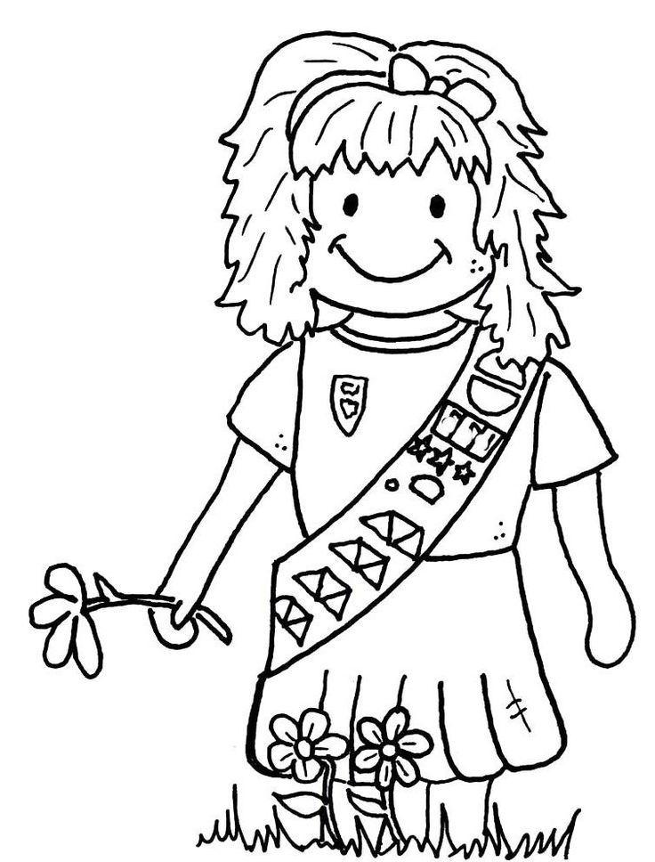 brownie coloring pages printable 680 best girl guides images on pinterest brownie girl brownie coloring pages printable