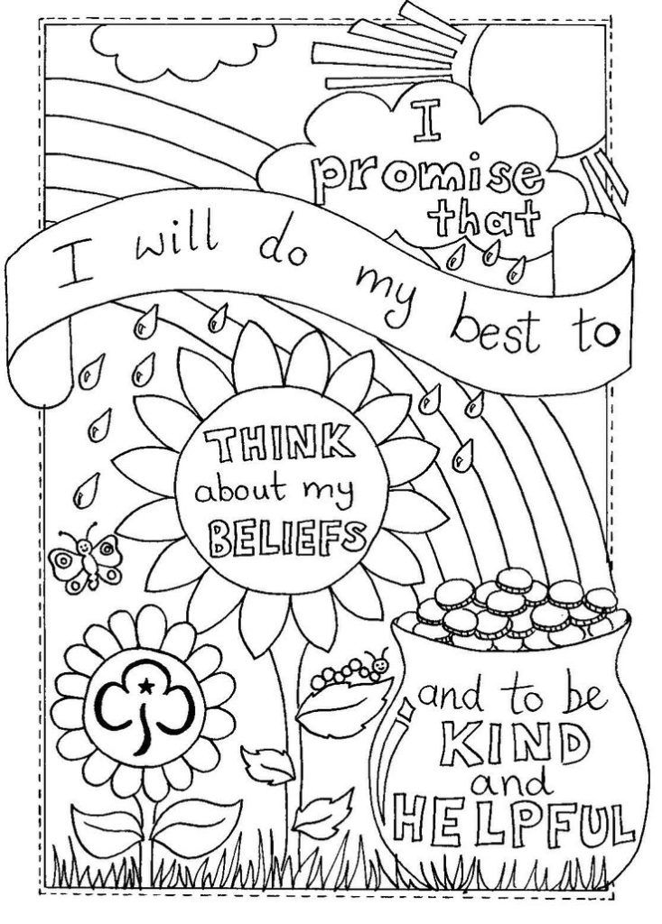 brownie coloring pages printable girl scout brownie coloring pages at getcoloringscom printable coloring pages brownie