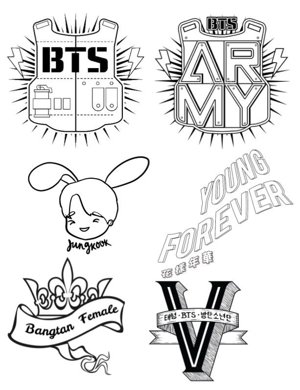 bts coloring page bts kpop coloring pages coloring pages coloring bts page