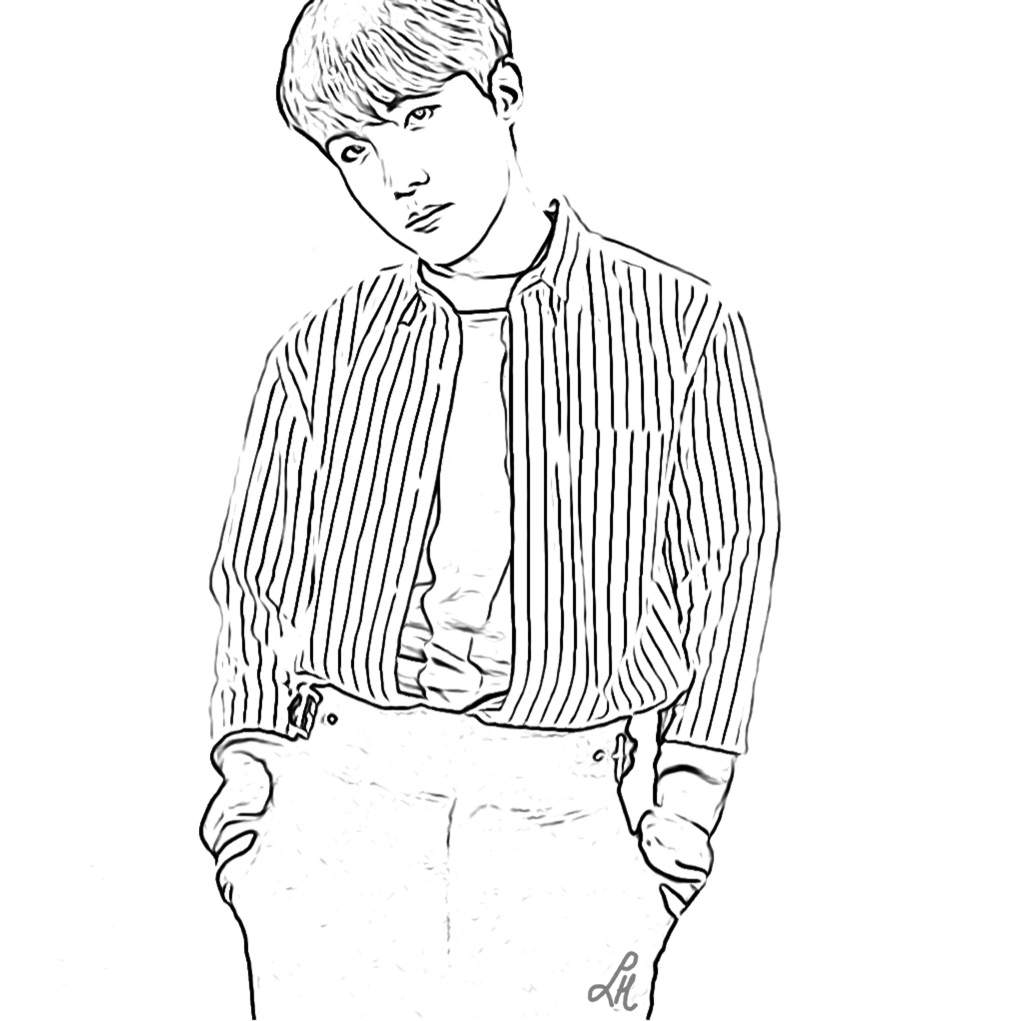 bts coloring page favorite images yandexcollections page coloring bts