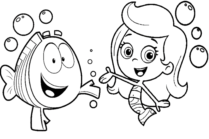 bubble guppies coloring pages bubble guppies coloring pages best coloring pages for kids pages guppies bubble coloring