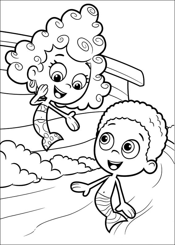 bubble guppies coloring pages bubble guppies coloring pages coloring pages coloring bubble guppies pages