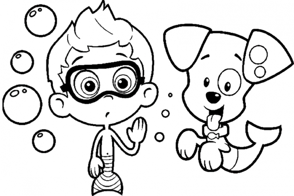 bubble guppies coloring pages bubble guppies coloring pages getcoloringpagescom guppies bubble pages coloring