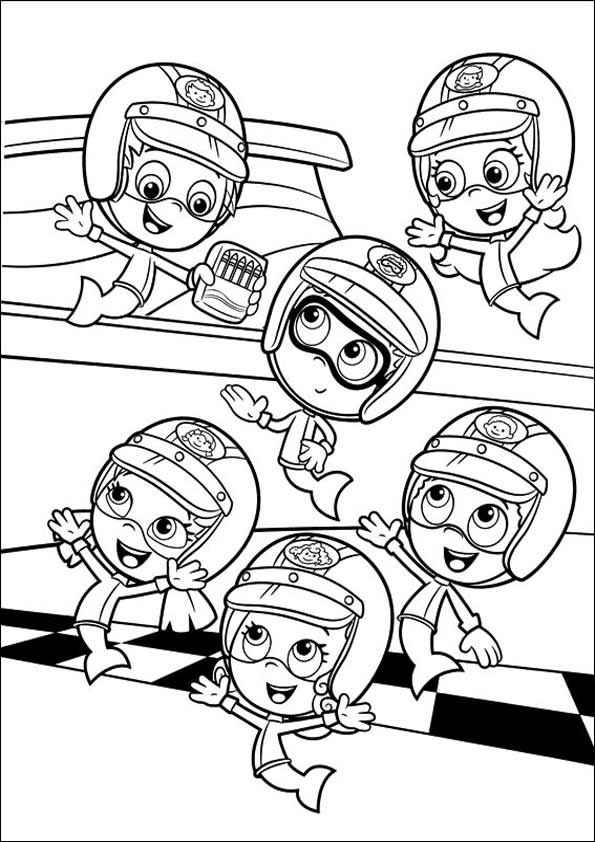 bubble guppies coloring pages pin by brian roberts on coloring pages nick jr coloring guppies bubble coloring pages
