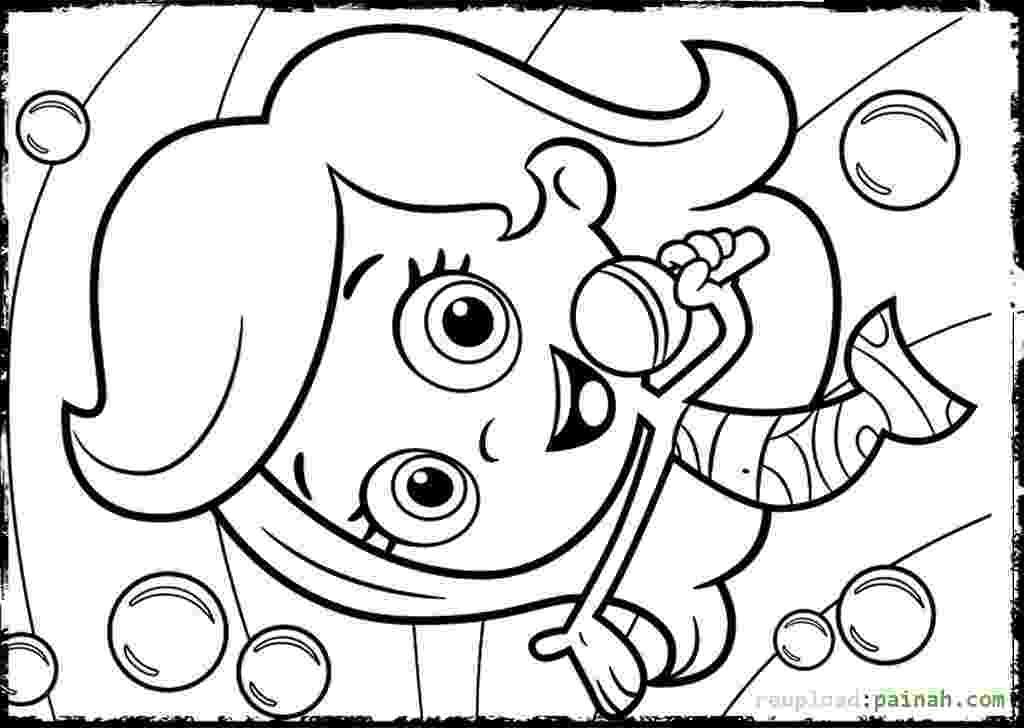 bubble guppies molly coloring pages molly bubble guppies coloring pages download and print for guppies molly bubble coloring pages
