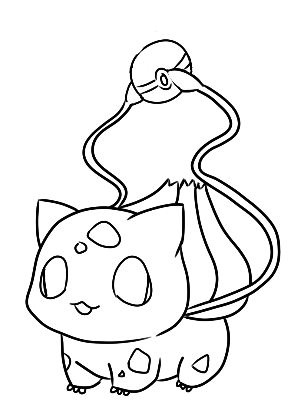 bulbasaur coloring page bulbasaur coloring pages free pokemon coloring pages page bulbasaur coloring