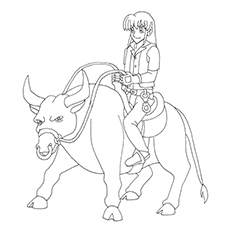 bull riding coloring pages bull coloring pages getcoloringpagescom pages coloring riding bull