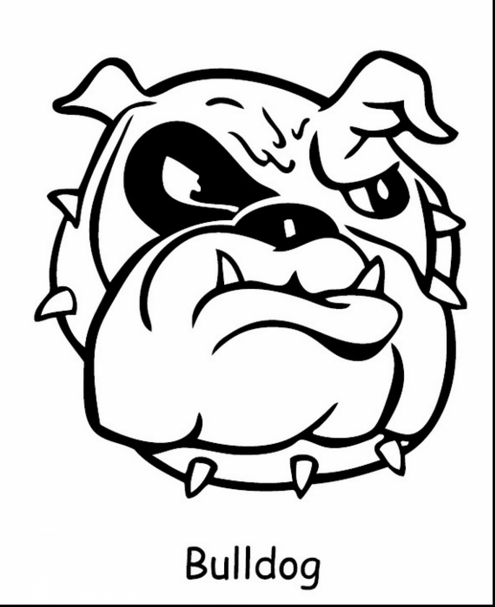 bulldog coloring pages bulldog coloring pages getcoloringpagescom coloring bulldog pages