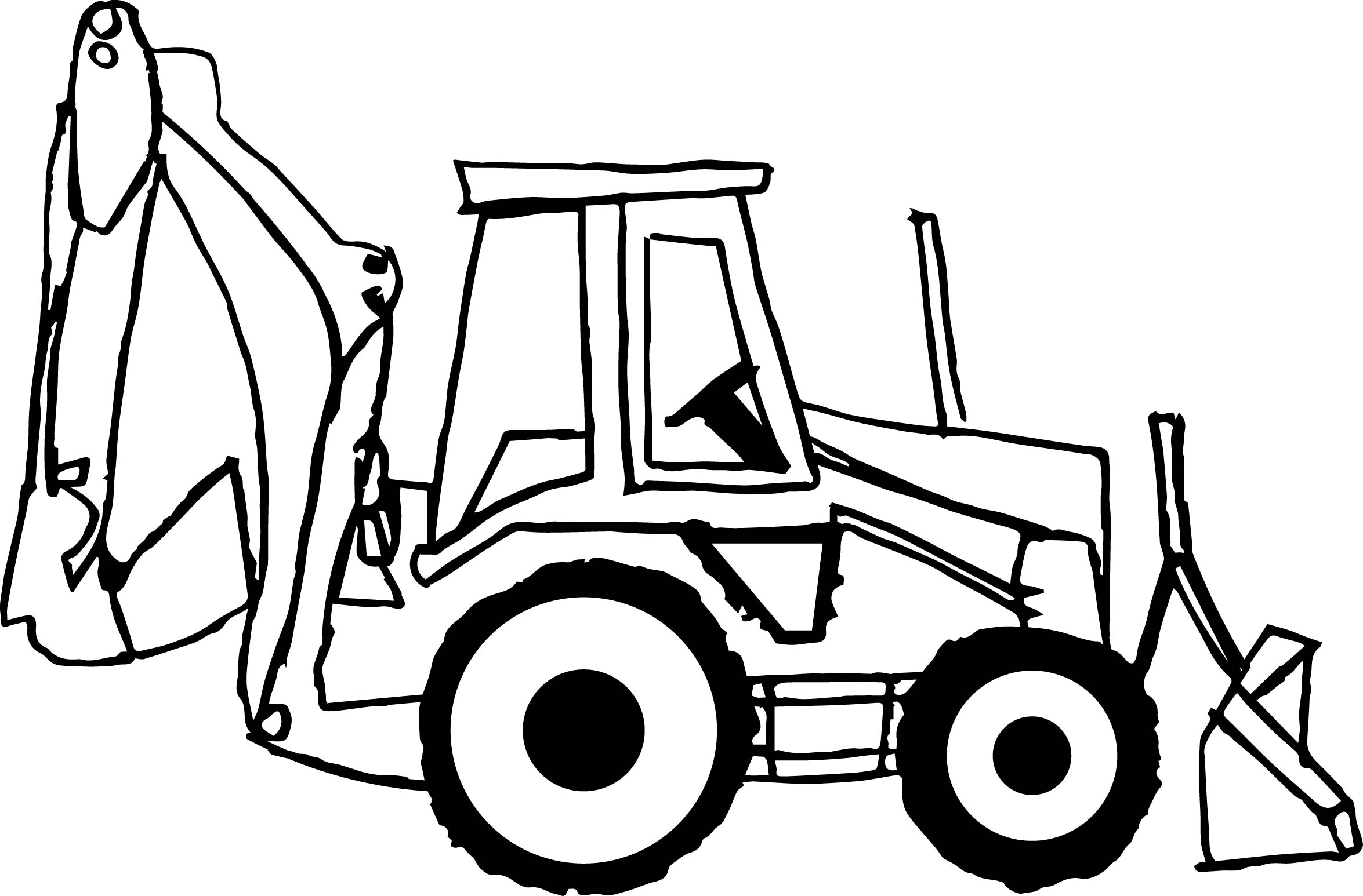 bulldozer pictures to color 30 best images about coloring pages on pinterest pictures color bulldozer to