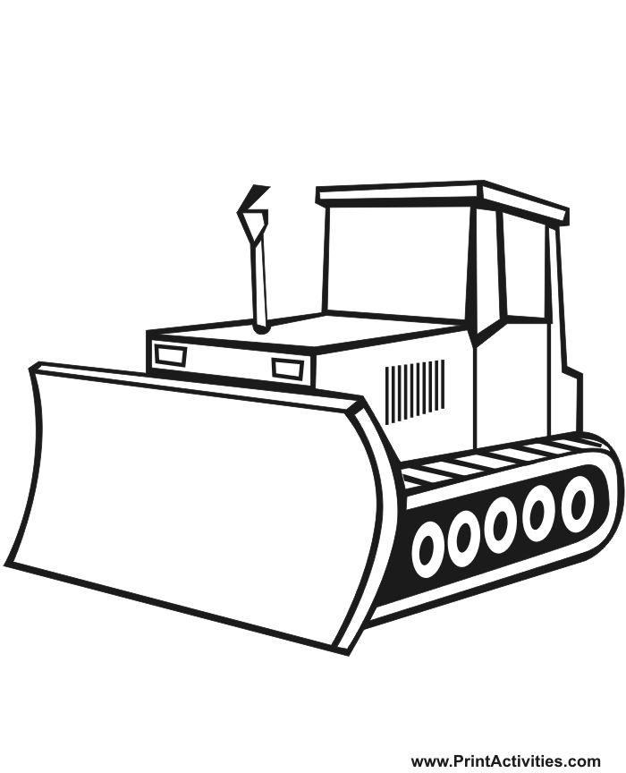 bulldozer pictures to color bulldozer coloring pages color bulldozer to pictures