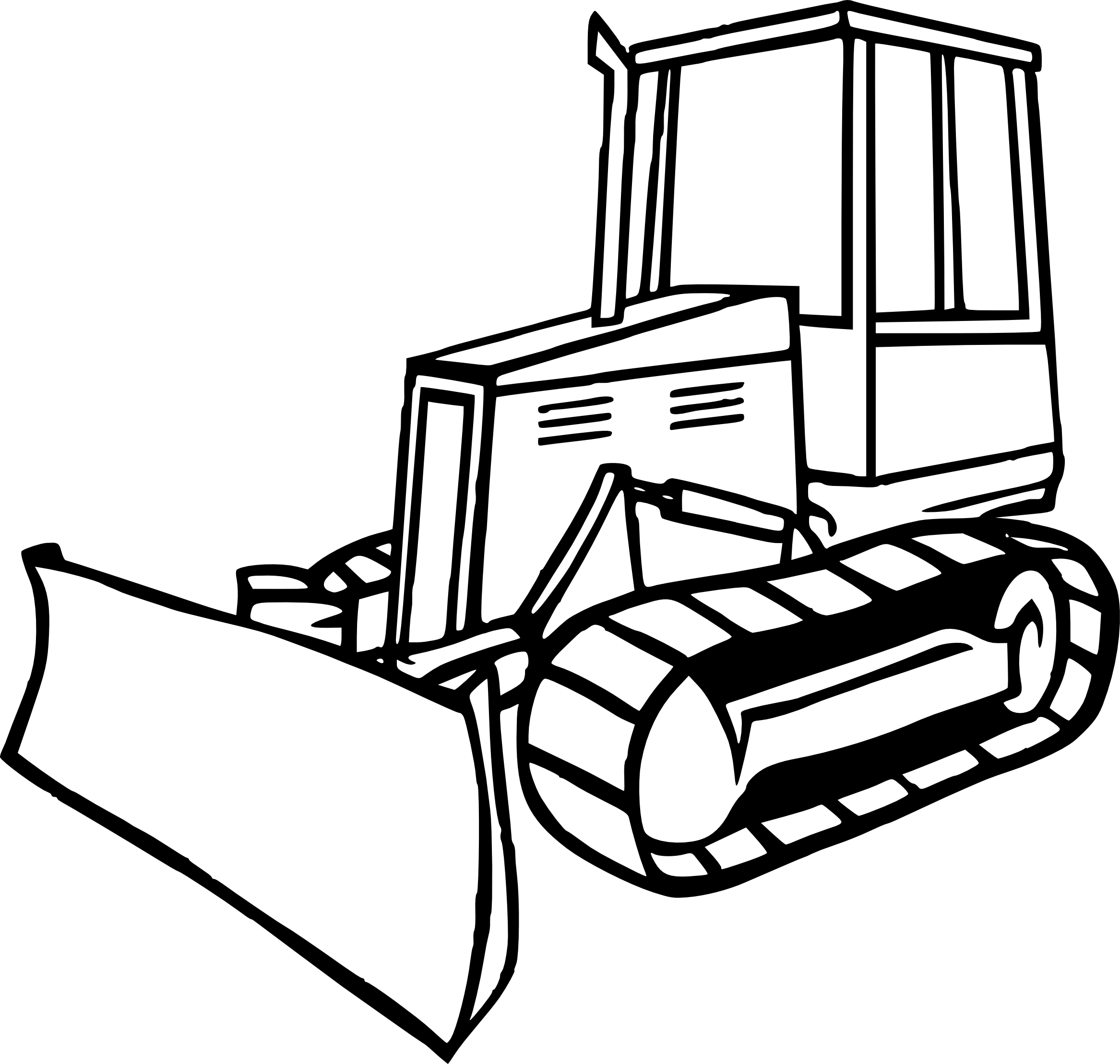 bulldozer pictures to color bulldozer coloring pages coloring pages to download and bulldozer pictures color to