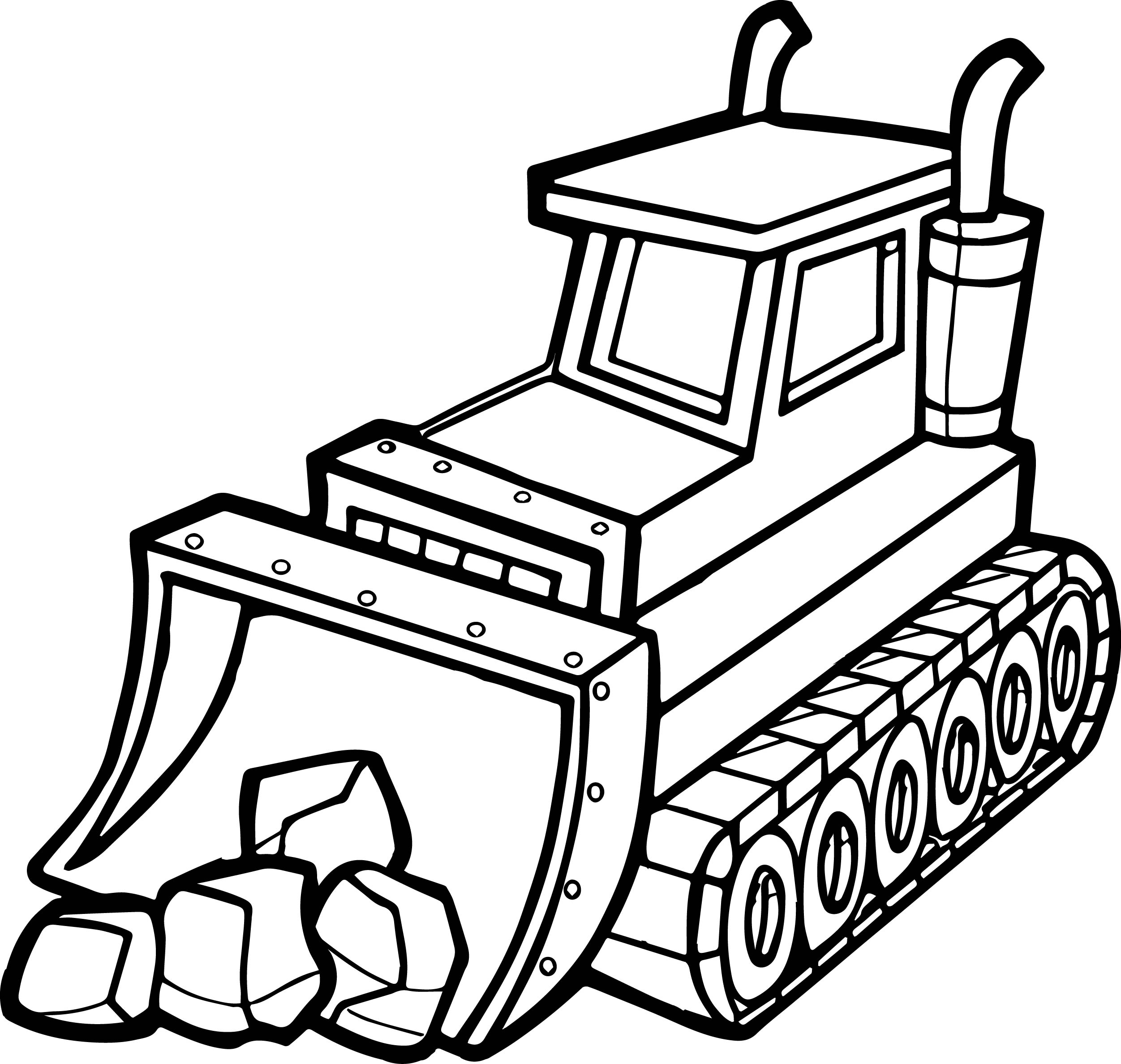 bulldozer pictures to color bulldozer with straight blade coloring page bulldozer to bulldozer color pictures