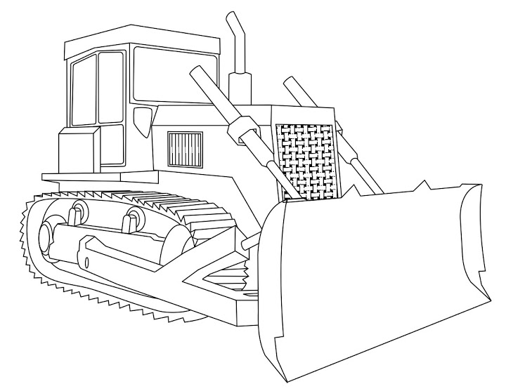 bulldozer pictures to color dozer coloring pages at getcoloringscom free printable pictures to bulldozer color