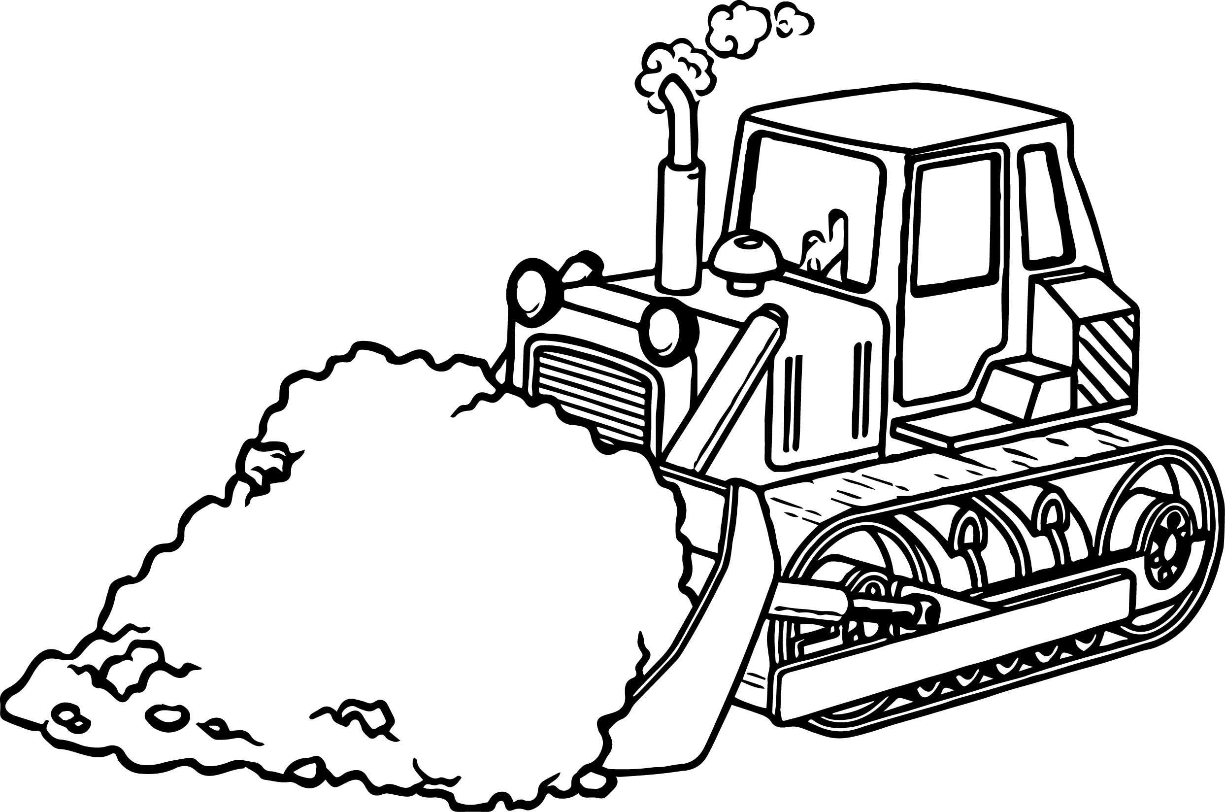 bulldozer pictures to color side bulldozer coloring page wecoloringpagecom color to bulldozer pictures