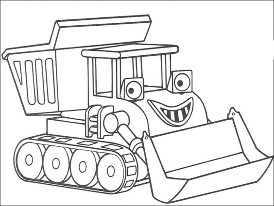 bulldozer pictures to color simple bulldozer drawing at getdrawingscom free for to color pictures bulldozer