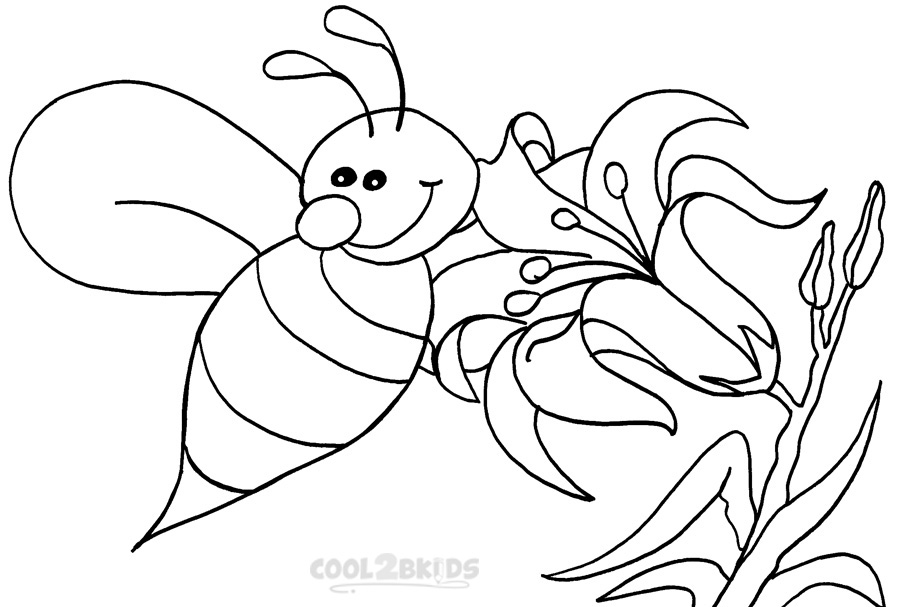 bumble bee coloring sheets bumble bee coloring pages clipart best bee sheets bumble coloring
