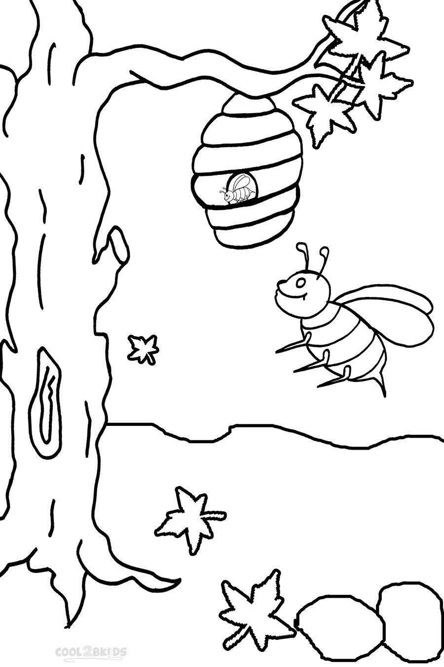 bumble bee coloring sheets printable bumble bee coloring pages for kids cool2bkids coloring bumble bee sheets