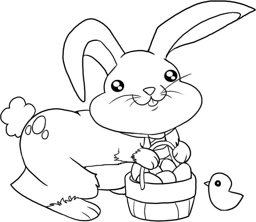 bunny coloring pictures cute bunny coloring page free coloring pages and coloring pictures bunny