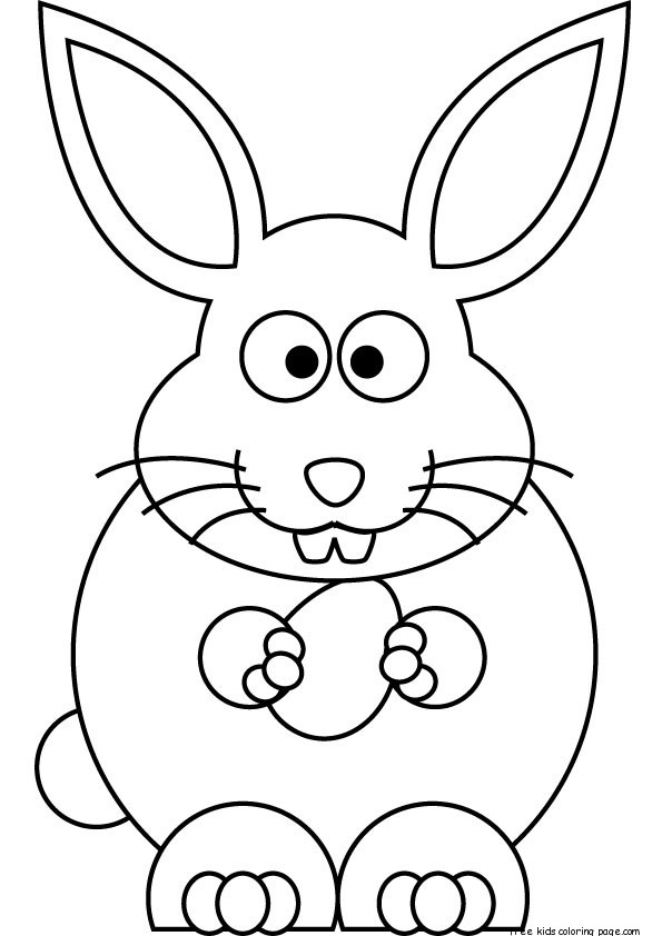 bunny pictures to print free printable easter bunny coloring sheets for kidsfree to pictures print bunny
