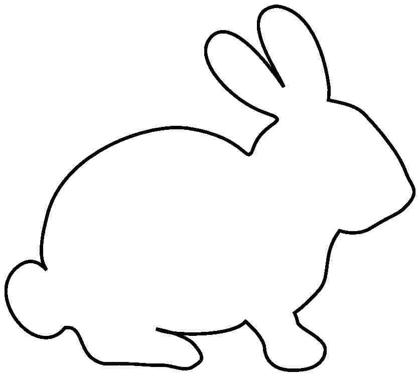 bunny rabbit printables bunny cutouts to print free print a larger image or bunny rabbit printables